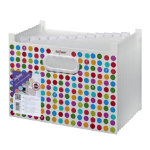 Snopake Polka Dot A4 13 part expanding file