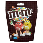 M M s chocolate pouch 165g