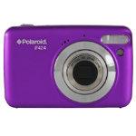 Polaroid IF424 14 megapixel digital compact camera purple
