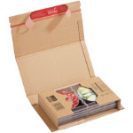 Colompac Postal Box Brown 80 x 175 x 299 mm