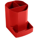 Exacompta Octo pen box in carmine red