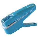 Kokuyo staple free stapler in light blue