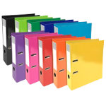 Exacompta Lever Arch File A4 Assorted 2 ring 70 mm 32 x 7 x 30 cm