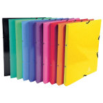 Exacompta Ring Binder Iderama A4 Assorted glossy laminated card