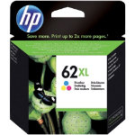 HP 62XL Original 3 Colours Ink Cartridge C2P07AE