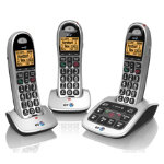 BT 4500 Big Button desk phone trio