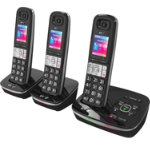 BT 8500 Advanced call blocker cordless phone trio