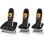 BT 7600 Nuisance Call Blocker phone trio
