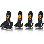 BT 7600 Nuisance Call Blocker phone quad