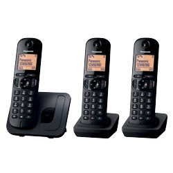 Panasonic KXTGC210EB digital cordless phone with nuisance call blocker ? trio