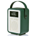 View Quest Retro Mini DAB radio with Bluetoothtm emerald