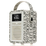 View Quest Retro Mini DAB radio with Bluetoothtm Emma Bridgewater edition black toast