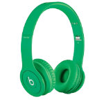 Beats Solo headphones matte green