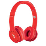 Beats Solo headphones matte red