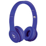 Beats Solo headphones matte purple