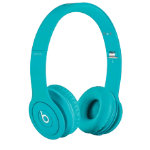 Beats Solo headphones matte light blue