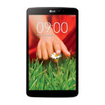 LG G Pad V500 83 tablet Black WiFi 16GB