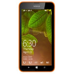 Nokia Lumia 630 smartmobile phone in orange sim free