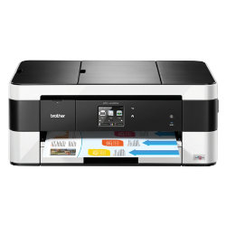 Brother MFCJ4420DW A4 smart inkjet multifunction printer with A3 bypass tray
