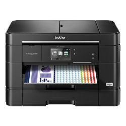 Brother MFCJ5720DW A4 smart colour inkjet multifunction printer with A3 print capabilities