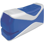 Rapid Fixativ Mobile Electric Stapler 10BX Blue 10 sheets