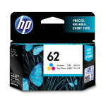 HP 62 Original Tricolour Inkjet Cartridge C2P06AE