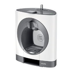 Krups Dolce Gusto Oblo coffee machine  white