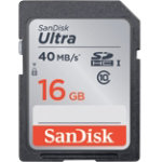 SanDisk Ultra SDXC card 16 GB