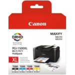 Canon PGI1500XL C M Y BK Original Black Cyan Magenta Yellow Ink cartridge