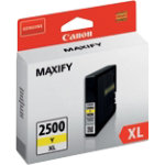 Canon 2500XL Original Yellow Ink cartridge 9267B001