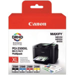 Canon 2500XL Original Black 3 Colours Ink Cartridge 9254B004