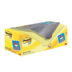 Post it Canarytm Yellow Notes Value Pack 76mm x 76mm 20 pads per pack