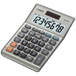 Casio MS80B desktop calculator