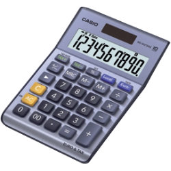 Casio MSMS100TERII desktop calculator