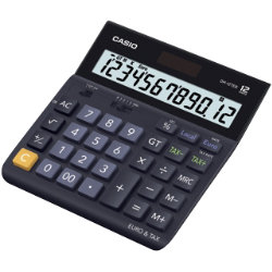 Casio DH12TER landscape desktop calculator