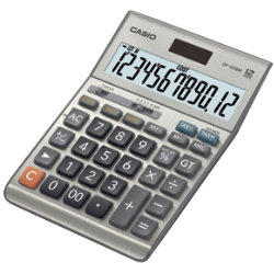 Casio Financial Calculator DF120BM Silver