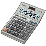 Casio Financial Calculator DF 120BM Silver