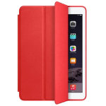 Apple iPad Air Smart hinged front Cover Leather Red