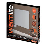 Warmlite 425W ceramic panel heater white
