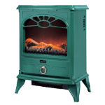 Warmlite 2000W stove fire green