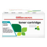 Office Depot Compatible for Lexmark C540H2CG Cyan Toner cartridge C540H2CG