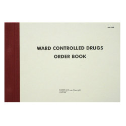 Ward controlled drugs order book