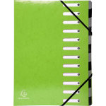 Exacompta Multipart File Iderama A4 Green pressboard