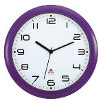 Alba Wall Clock HORNEWP Purple