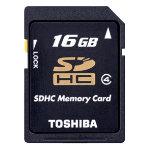 Toshiba 16GB SDHC Card Class 4