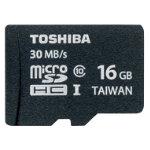 Toshiba 16GB MicroSDHC Card Class 10