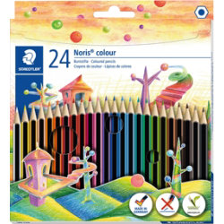 Staedtler Noris colouring pencils 24 pack