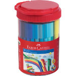 Faber Castell Felt Pen Assorted Box 50