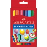 Faber Castell Connector colouring pens assorted colours box of 10
