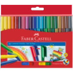 Faber Castell Felt Pen 155520 Assorted Box 20